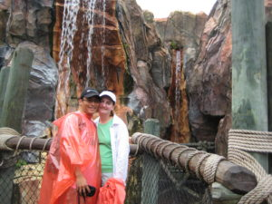 Riding the Islands of Adventure wet rides