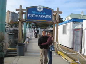 October 2008 on a Celebrity Mercury cruise with the Nelsons.  We stopped in the little port Nanaimo as well as Victoria