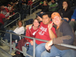 OSU Beavers take on the WSU Cougars in Seattle, WA, October 2011 with our friends MattBob and John