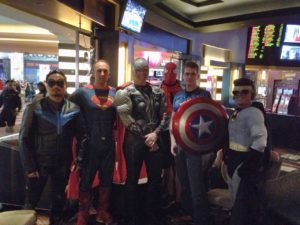 Octane Superheroes unite for a Halloween night of fun and mischief, Las Vegas 2014